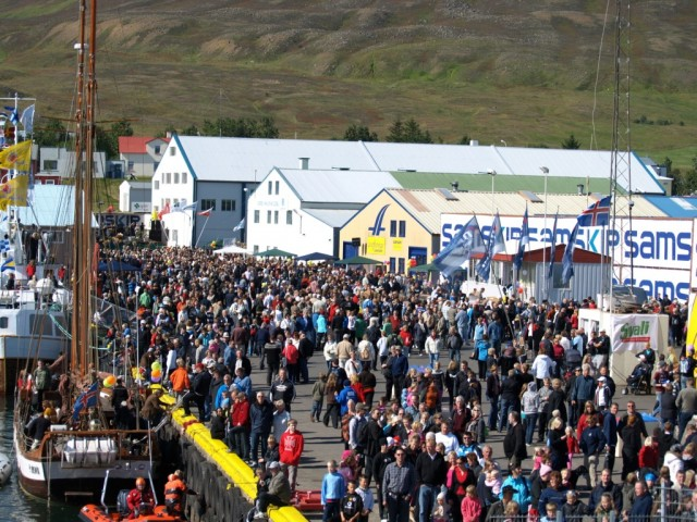 Fiskidagurinn Mikli (The Great Fish Day) in Dalvik